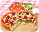 Chơi Game Làm Bánh Pizza