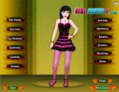 Game thời trang Emo