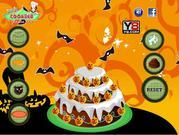 Game trang trí bánh HALLOWEEN