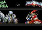 Ninja rùa vs Siêu nhân