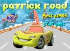 Patrick đua xe