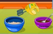 Bánh ngọt nhân đào
