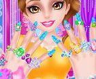 Công chúa đi Spa làm móng tay