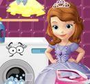 Game công chúa Sofia giặt quần áo