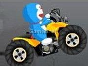 Doremon lái moto
