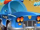 Rửa xe cảnh sát