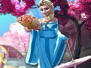 Elsa du lịch nhật bản