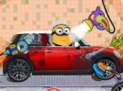Minion rửa xe