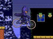 Batman lái xe đạp