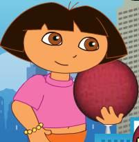 Dora chơi bóng rổ