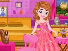 Công chúa Sofia trang trí phòng ngủ