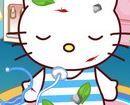 Trị thương cho Hello Kitty