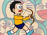 choi game Nobita bắn bóng bay