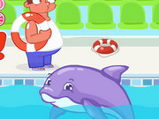 Cá heo trốn tập