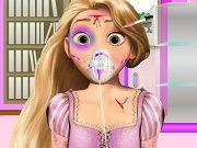 Rapunzel bị chấn thương