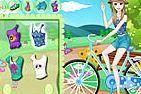 choi game Thời trang đua xe đạp