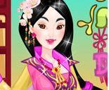 Thời trang hoàng cung của công chúa Mộc Lan