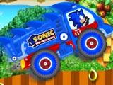 Sonic lái xe tải