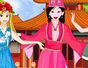 Princesses Chinese Folk Dance