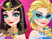 Elsa du lịch Ai Cập