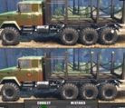 Log Carrier Trucks Differences