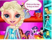 Elsa đi shopping mùa đông