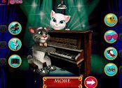 choi game Talking Tom biểu diễn Piano