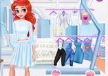 Công chúa thay quần áo