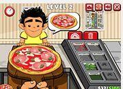 Phục vụ bánh Pizza