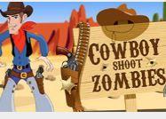 choi game cao bồi miền  tây bắn zombie