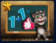 Mèo Tom học toán
